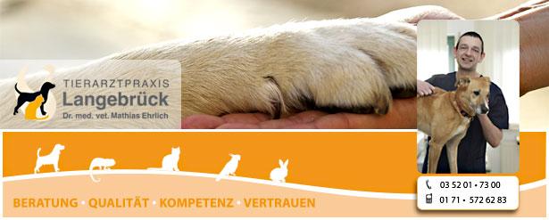Tierarztpraxis Ehrlich - Ihr Tierarzt im Norden von Dresden